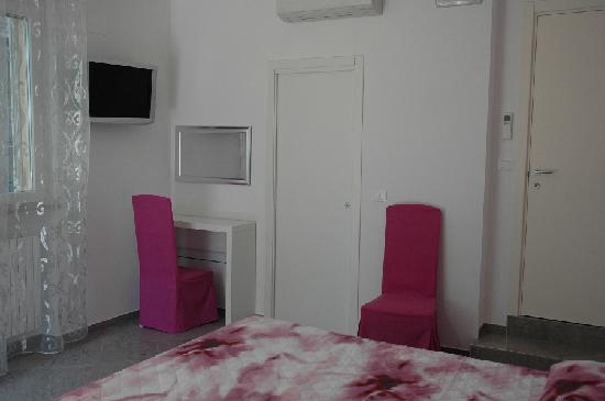 Una stanza del B&B Casa Romualdi