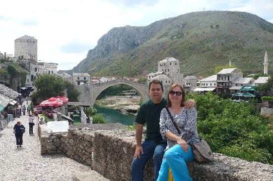 Pansion Rose: Ourselves in the Old Town in Mostar