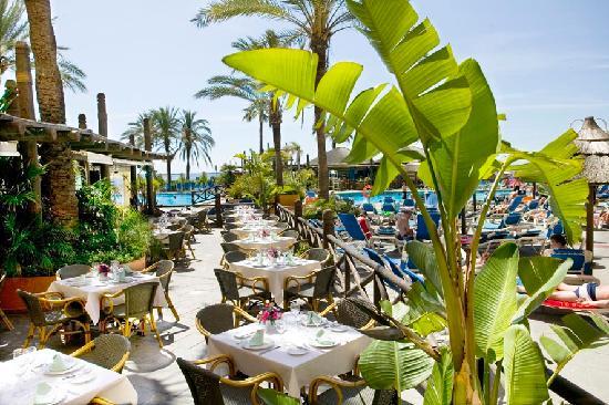 Sunset Beach Club: Terrace Restaurant