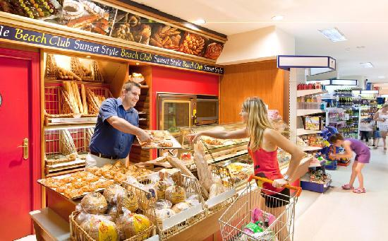 Sunset Beach Club has its very own on-site supermarket and bakery.