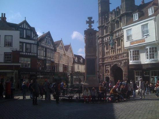 Canterbury Cathedral: Buttermarket & Main Gate