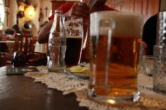 U Matěje Kotrby: Beers and Tabletop