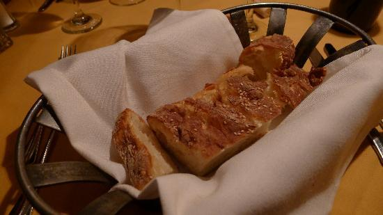 The Lakefront Restaurant: Pre-meal bread
