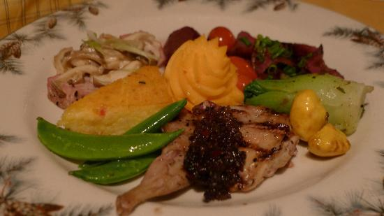 The Lakefront Restaurant: Mixed Game Dish