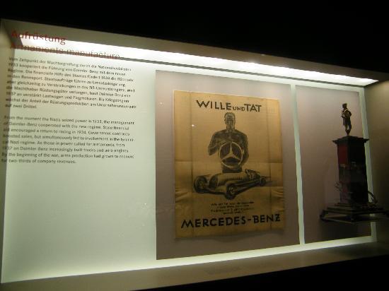 พิพิธภัณฑ์ยานยนต์ เมอร์เซเดส-เบนซ์: detailed historical info