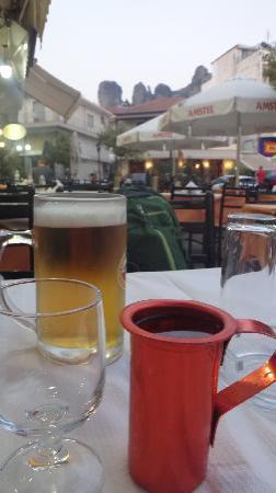 Restaurant Archontariki: ビールとワイン
