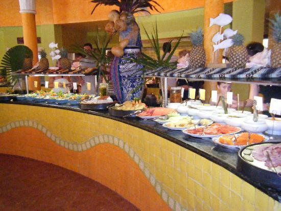 IBEROSTAR Paraiso Del Mar : Heerlijk eten