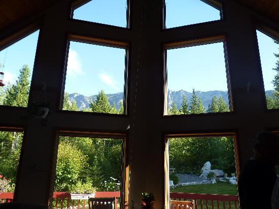 Farview Bed and Breakfast: VIEW FROM SITTING ROOM