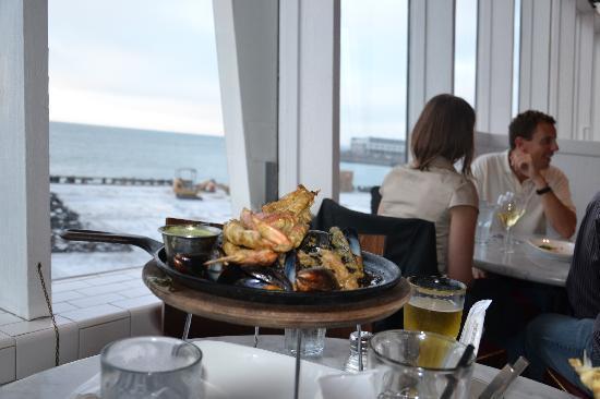 Franciscan Crab Restaurant: misto granchio, gamberi e cozze