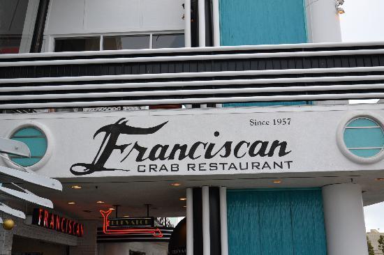 Franciscan Crab Restaurant: ingresso
