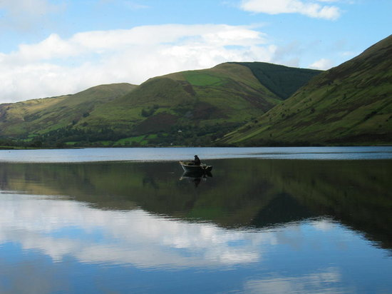 The Old Rectory on the Lake: Flat Calm on Talyllyn