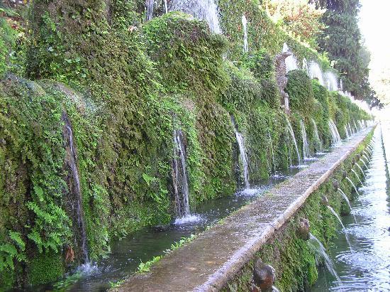 Villa d'Este: le cento fontane