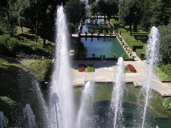 Villa d'Este: uno sguardo attraverso l'Organo ad acqua