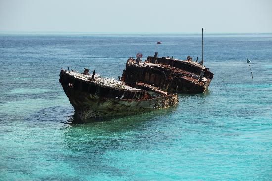 เฮรอน ไอแลนด์ รีสอร์ท: The famous wreck