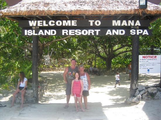 Mana Island Resort: Bula!