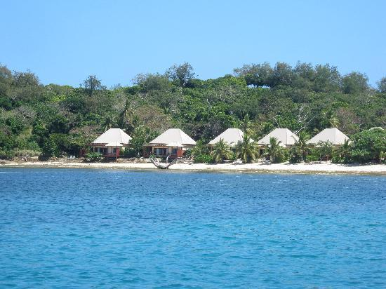 Mana Island Resort: Honeymoon bures