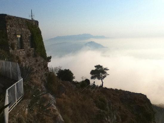 Mount Solaro: Morgenstimmung