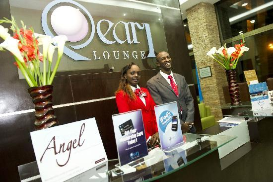Pearl lounge at Kigali International Airport