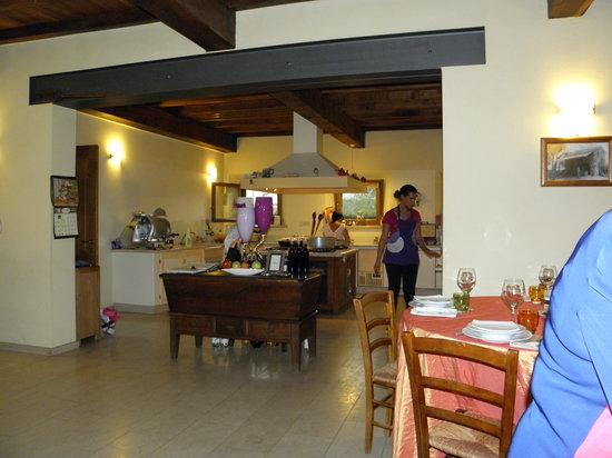 Cucina con vista - Picture of Agriturismo Il Piccolo Mugnaio ...