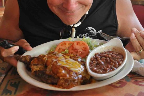 Pancho & Lefty's Cantina: Steak and Enchilada