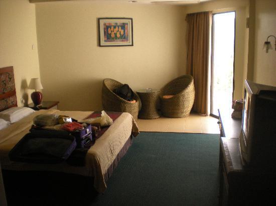 โรงแรมลังกาวี ซีวิว: the room