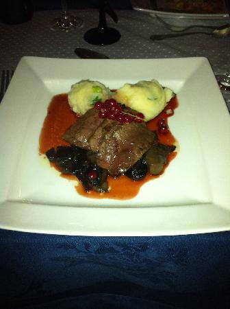 Harbour Inn: the Venison with red currants