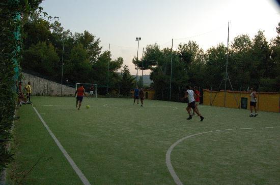 Villaggio Elisena: calcetto....