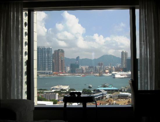 โรงแรมแมนดาริน โอเรียนทอล ฮ่องกง: Vista a la bahía