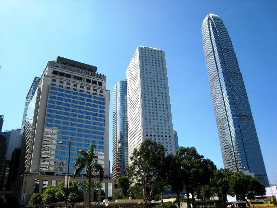 โรงแรมแมนดาริน โอเรียนทอล ฮ่องกง: Building