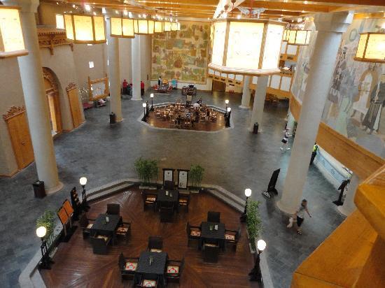 โรงแรมเดอะซิลค์โร้ดตันหวง: Hotel lobby