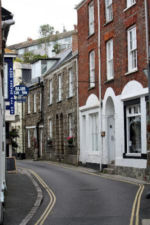 Fowey to Mevagissey Ferry: Streets in Mevagissey