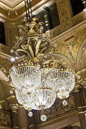 โรงแรมคอนคอร์ดโอเปราปารีส: Hilton Paris Opera Le Grand Salon, detail