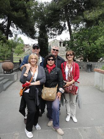 Lucia Pompeii Guide Tours: Lucia and our party