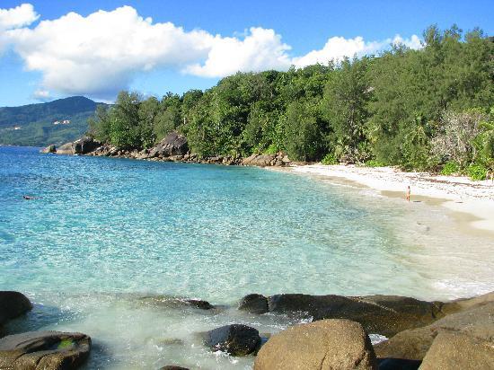 Anse Soleil Beachcomber: Anse Solei beach
