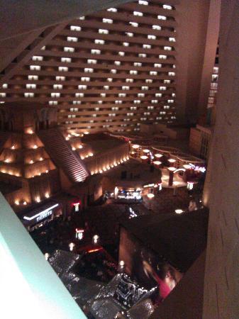 ลักซอร์: View from 14th floor inside hotel