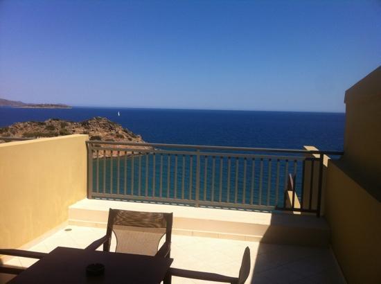 บลูมารีน รีสอร์ท & สปา: view from my balcony