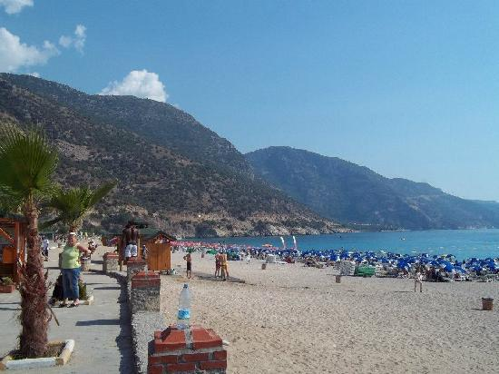 Majestic Hotel: This is Oludeniz Beach
