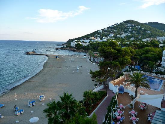 Hotel Riomar: sea view from 4th floor balcony