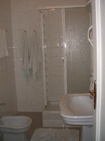 โรงแรมเรสซิเดนซ์ โบโลญญา: Il bagno