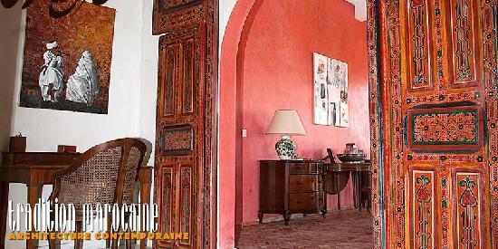 Dar Diamar: Chambre d'hote Essaouira : Intérieurs