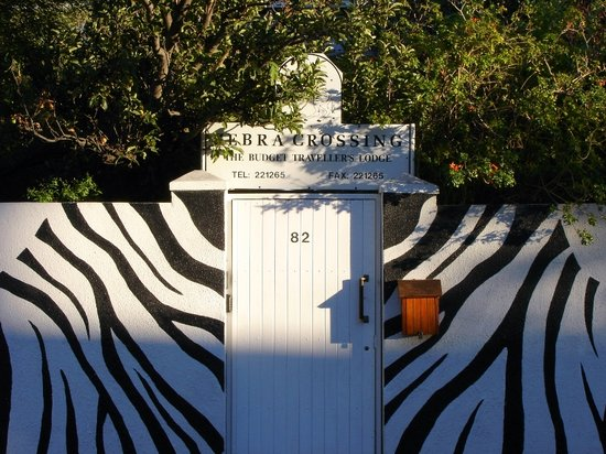 Zebra Crossing: entrance
