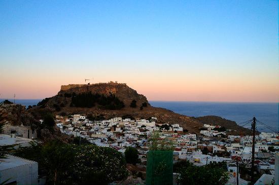 Hotel Lindos View: Acropolis