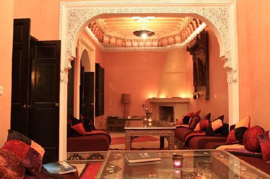 Riad Princesse du Desert: Salon