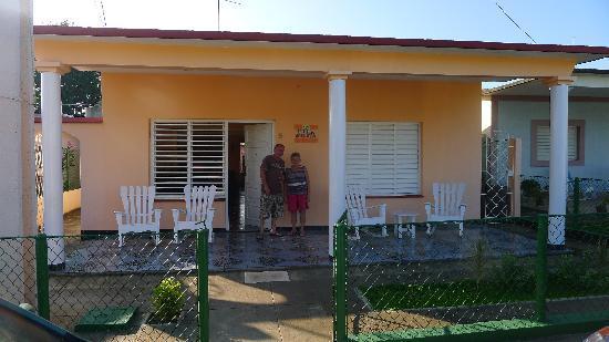 Casa Villa Silvia: Silvia et son fils
