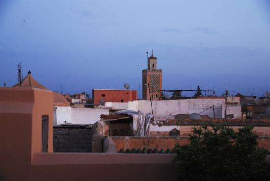 Dar Housnia: un angle de vue (vue à 360°) a partir d'une des terrasses