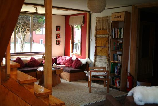 Hostal Amerindia Patagonia: some quiet place to read