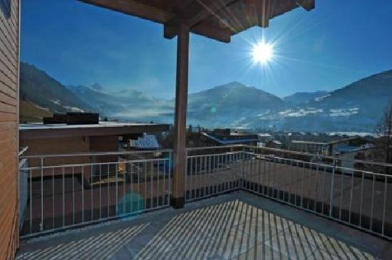 AlpenParks Residence Bad Hofgastein: Panorama vom Balkon