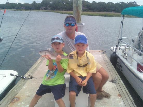 Tailer May'D Charters, LLC: Great fishing for kids too!