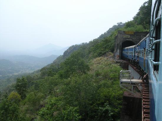 Araku Valley: frm train
