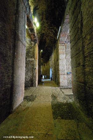 Corridor in Arena di Verona